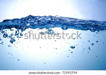 Water splashing - Shutterstock ID 71993794