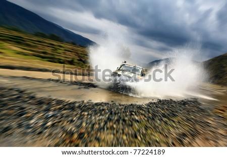 Water splashing Stock photo ©