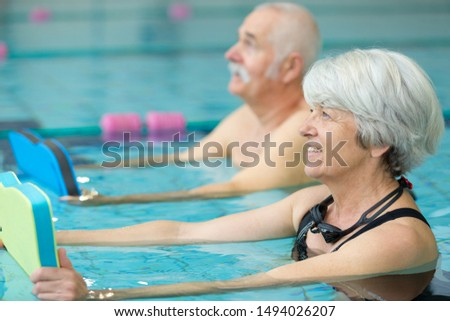 water sports and aerobics for elders #1494026207