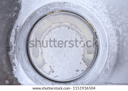 water stone in kettle