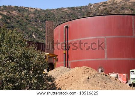 Water Storage Tank under Construction #18516625