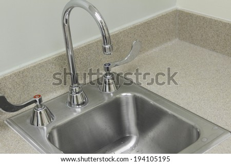 Water supply of a hospital room