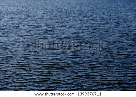 Water surface clean texture background. Abstract blue water #1399376711