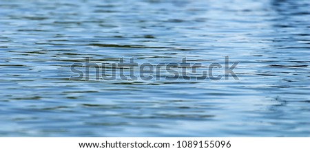 Water surface, Sea surface, Water background, Blue water surface #1089155096