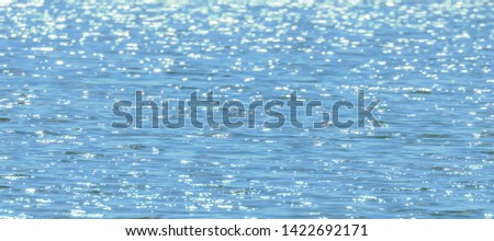 Water surface, Sea surface, Water background, Blue water surface