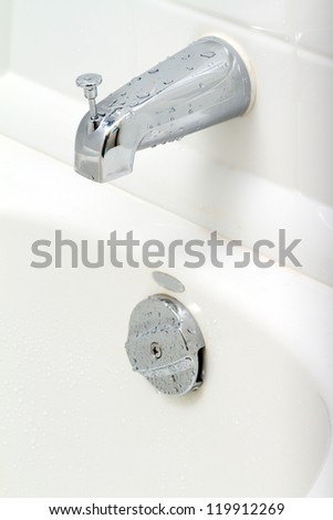 Water switch in the bathroom