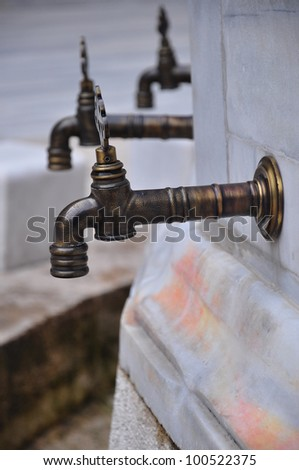 water taps