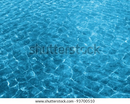 water texture with solar patches of light
