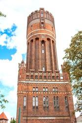 water tower in Luneburg (in Germany Lüneburger Wasserturm) Lower Saxony (in german Niedersachsen) Germany