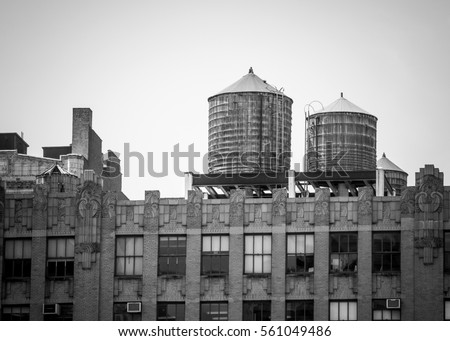 water towers in new york city