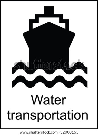 Water Transportation Public Information Sign