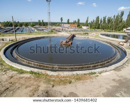 Water treatment at treatment plants