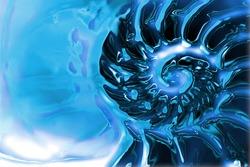 water twirl background