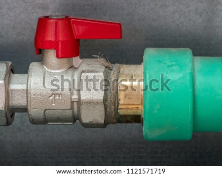Water valve of house floor heating system
