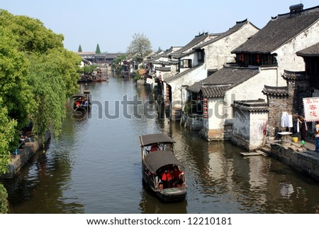 Water village in China, Suzhou