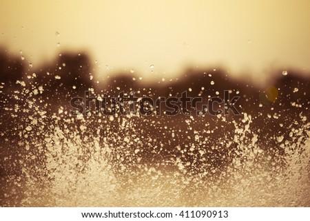 Water vintage background #411090913