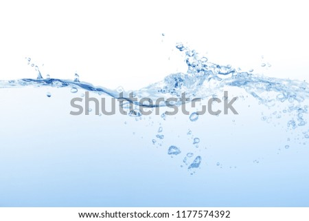Water ,water splash isolated on white background,water splash, #1177574392