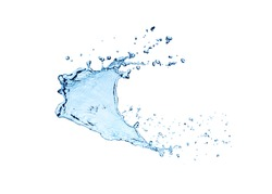 Water wave bubbles background