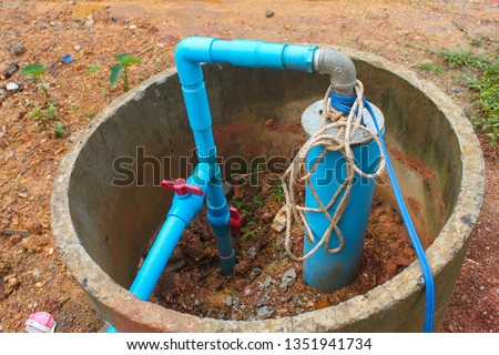 Water Well Drilling, Dig a well for water, Inside The Well, Water filter system, Water supply pipeline