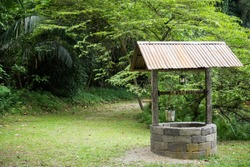 water well in forest