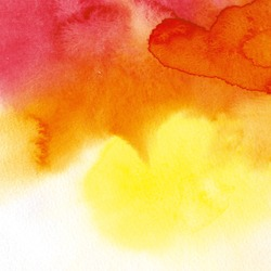 Watercolor abstract hand painted background
