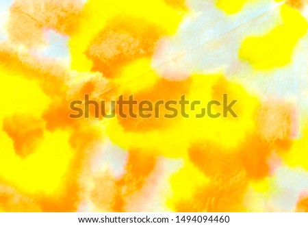 Watercolor Art. Gold Boho Artwork.  Hologram Gold Template. Multicolor Shibori Art. Gold Jungle Ornament. Watercolor Art. Multicolour Rainbow Brush. Grunge Art.