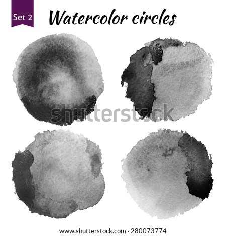 Watercolor art photoshop compilation significant grain and grunge retro dark art bit mapped graphics. Graphic arts are a raster. Abstract shape for Business background presentation and advertising. stock photo