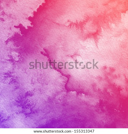 Watercolor Background Abstract art painting texture
