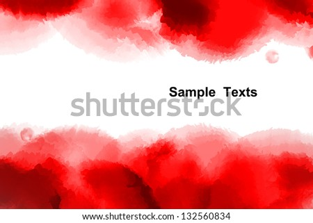 Watercolor background, Abstract background