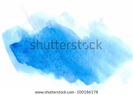 Watercolor background  for textures and backgrounds! - stock photo