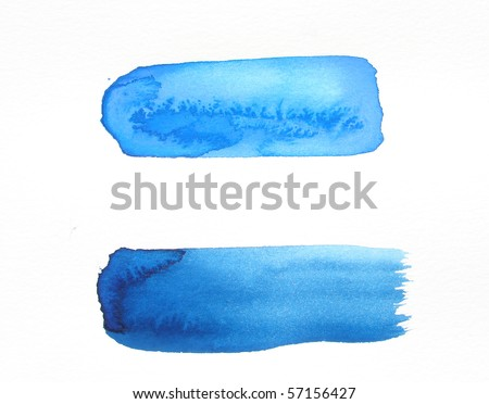 watercolor brush strokes background design