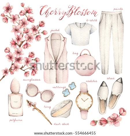 watercolor fashion illustration....