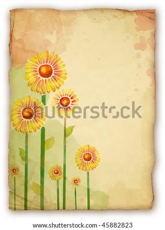 watercolor painting flowers. Watercolor Flowers. Painting.
