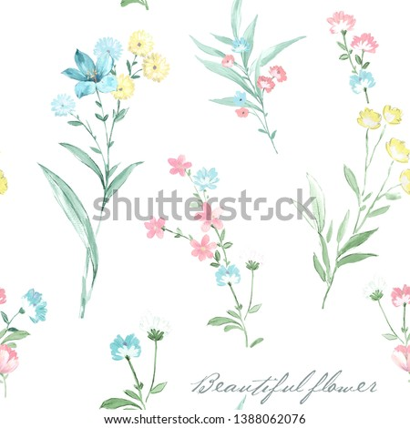 watercolor flowers set,It's perfect for greeting cards,wedding invitation, wedding design