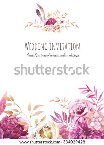 Simple Wedding Invitation Template is nice invitations example