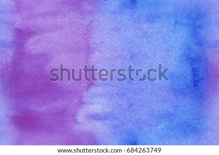 Watercolor Hand Drawn Texture - Shutterstock ID 684263749