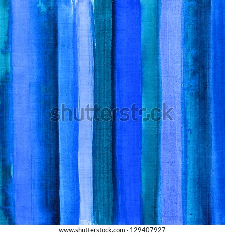 Watercolor hand painted brush strokes, striped background