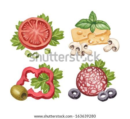 Food and drink illustration