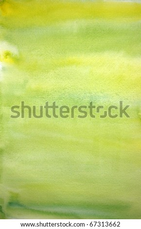 Watercolor lemon hand painted art background for scrapbooking, created by me