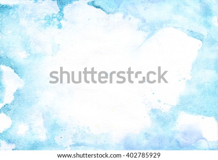 Watercolor light background
