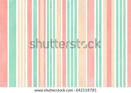 watercolor light pink and blue striped background ez canvas