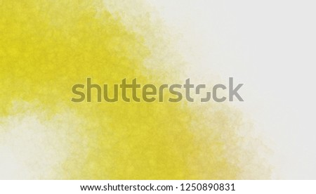Watercolor paper background. Abstract Painted Illustration. Brush stroked painting. #1250890831