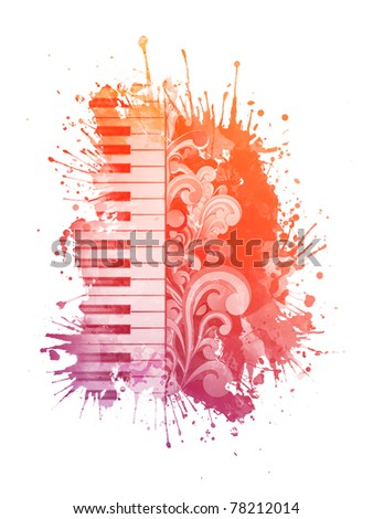 Watercolor Piano