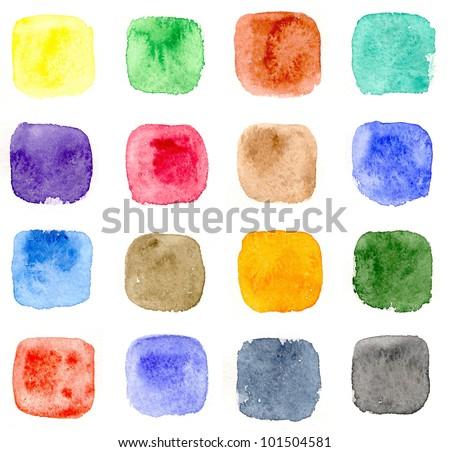 Watercolor seamless pattern #2