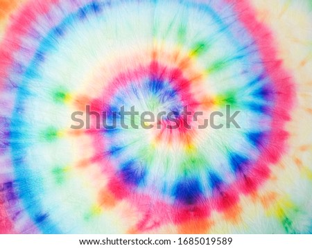 Watercolor Spiral. Organic Artistic Dirty Art. Spiral Watercolor Art. Rainbow Artistic Circle. Tiedye Swirl. Floral Spiral Effect. Watercolor Fabric. Trendy Fashion Dirty Paint.