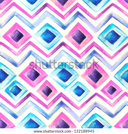 Watercolor stripes template background