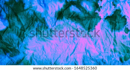 Watercolor Texture. Blue Tie Dye Batik. Watercolor Pattern. Transparent Wallpaper. Neon  Brushed Graffiti. Tie Dye Patchwork. Purple Rainbow Artistic Dirty Art. Dirty Art Painting. Aquarelle Print.