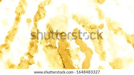 Watercolor Texture. Gold Tie Dye Shirt. Glitter Dirty Art Background. Dirty Art Painting. Watercolor Pattern. Splash Print. Brushed Graffiti. Brushed Banner.Tie Dye Grunge. Brown