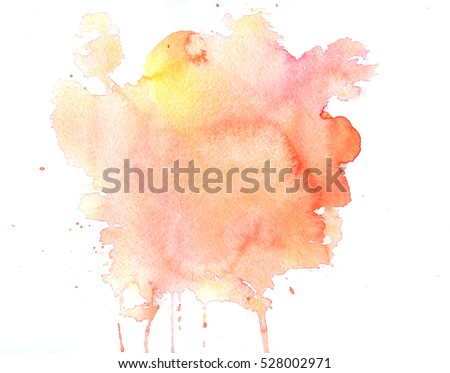 Watercolor texture of stains #528002971