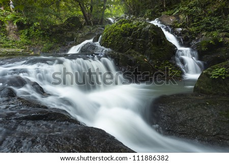 waterfal in deep forestin JedKod forest